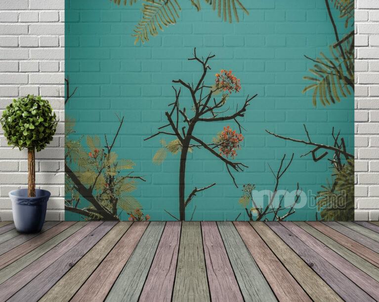 seinätapetti, tapetti, tuloste, kuva, wallpaper, Innobrand, Ilmetys