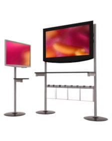 Näyttö- ja TV-teline
