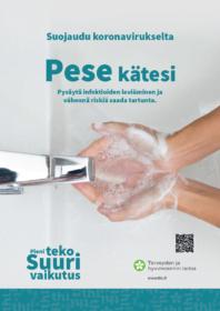 Tuloste THL:n hygienia aineistoista
