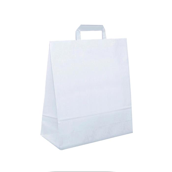 Paperikassi valkoinen